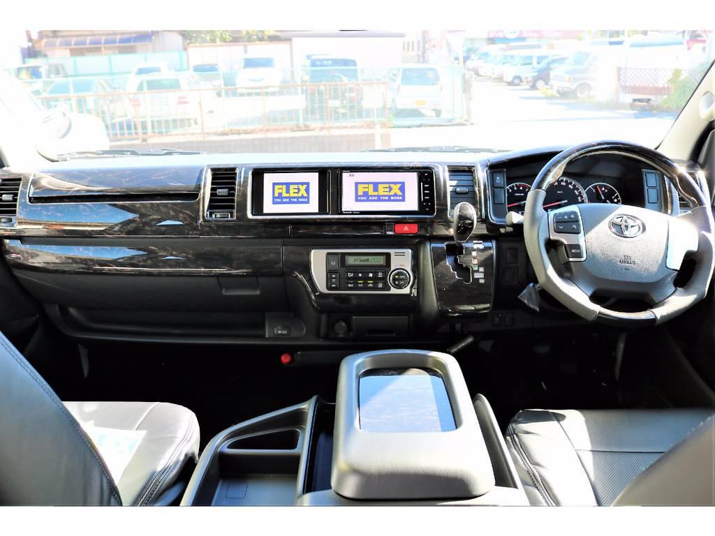 内外装ともにカスタム済みのお買い得な1台です! | トヨタ ハイエース 2.7 GL ロング ミドルルーフ 4WD アレンジR1 TSS付