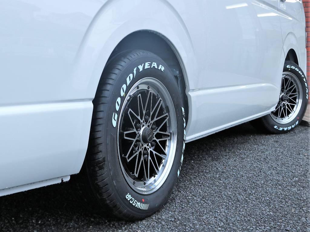 1.5インチローダウン済みです!2.1m制限の立体駐車場にもご入庫可能可能です! | トヨタ ハイエース 2.7 GL ロング ミドルルーフ 4WD アレンジR1 TSS付