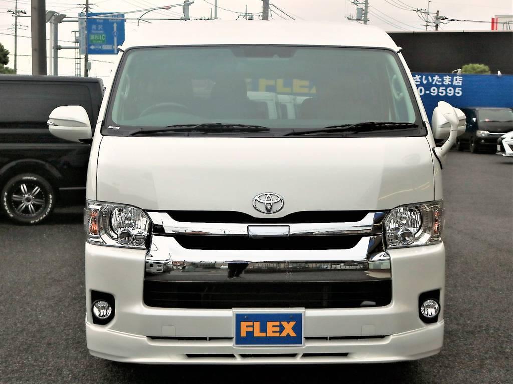 ハイエースの事ならFLEXハイエースさいたま店にお任せください!アフターサービスも頑張ります! | トヨタ ハイエース 2.7 GL ロング ミドルルーフ 4WD アレンジR1 TSS付