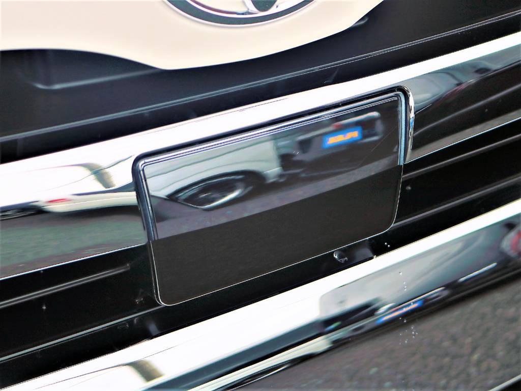 安心の自動ブレーキ付きも標準装備です! | トヨタ ハイエース 2.7 GL ロング ミドルルーフ 4WD アレンジR1 TSS付