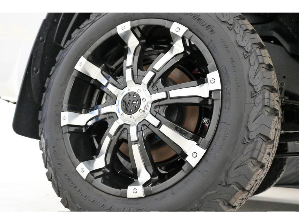 新品MG20インチホイール&新品BFグッドリッチATタイヤを装着致しました! | トヨタ ランドクルーザー200 4.6 AX 4WD 新車未登録車 2インチUP