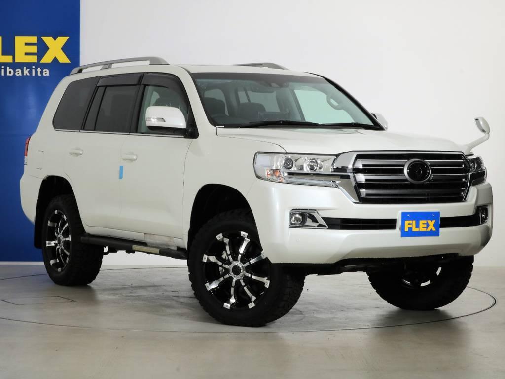 各種任意保険、オートローンも扱っておりますのでお気軽にご相談ください。 | トヨタ ランドクルーザー200 4.6 AX 4WD 新車未登録車 2インチUP