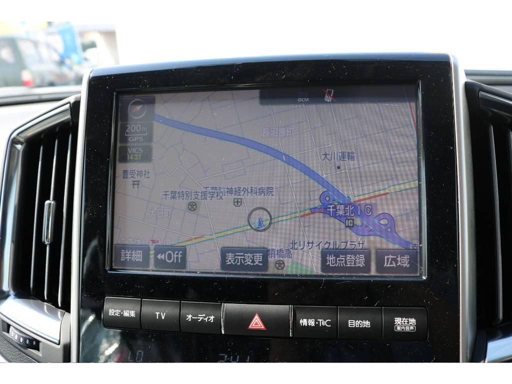 9インチワイドマルチでブルーレイも観れちゃいます!   トヨタ ランドクルーザー200 4.6 AX Gセレクション 4WD 新車未登録車 24インチAW