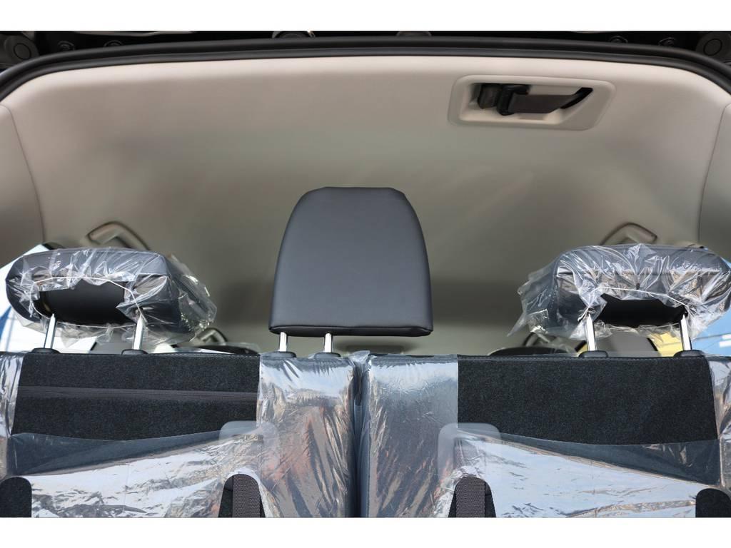 広々した天井!フリップダウンモニターの取り付け事例もございます。   トヨタ ランドクルーザー200 4.6 AX Gセレクション 4WD 新車未登録車 24インチAW