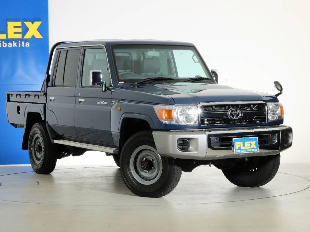各種任意保険、オートローンも扱っておりますのでお気軽にご相談ください。 | トヨタ ランドクルーザー70 4.0 4WD ピックアップ