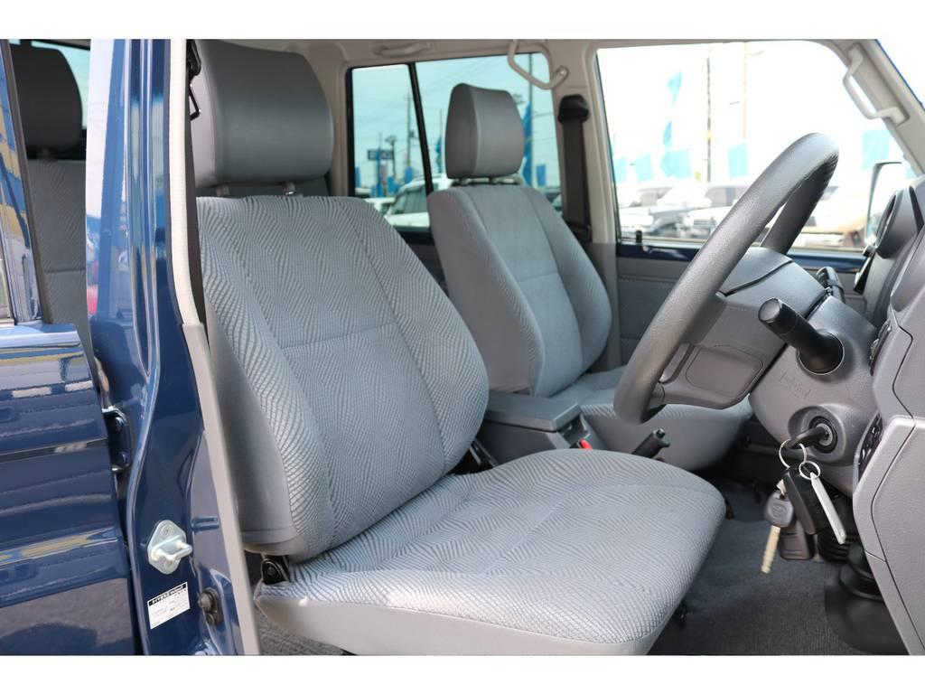 運転席も切れなどもなくGOODコンディションです! | トヨタ ランドクルーザー70 4.0 4WD ピックアップ