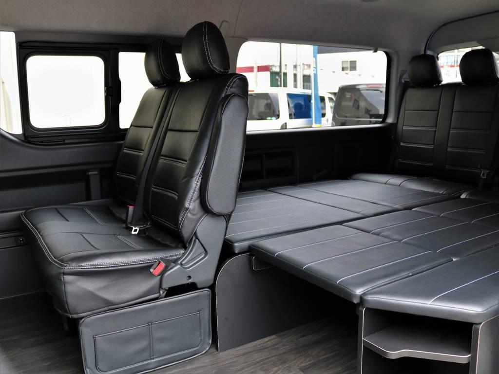 テーブルも簡単に取り外せます!! | トヨタ ハイエース 2.7 GL ロング ミドルルーフ 4WD TSS付 アレンジR1
