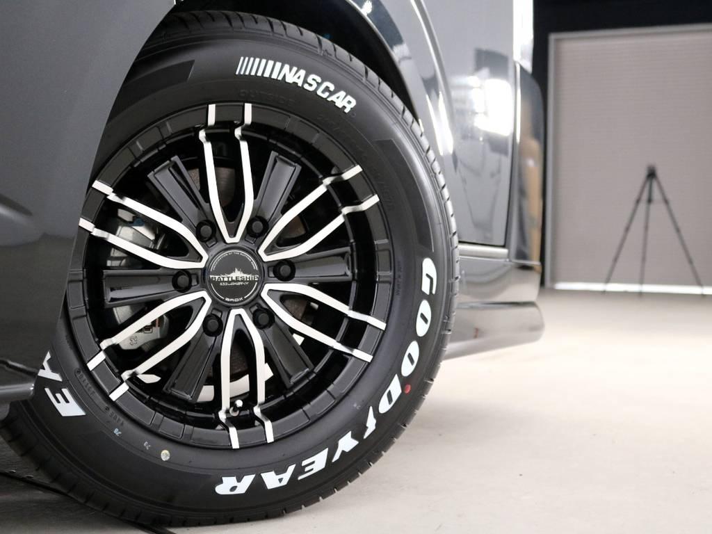 ロクサーニ バトルシップ3 16インチアルミホイール! | トヨタ ハイエース 2.7 GL ロング ミドルルーフ TSS付 内装アレンジVer2