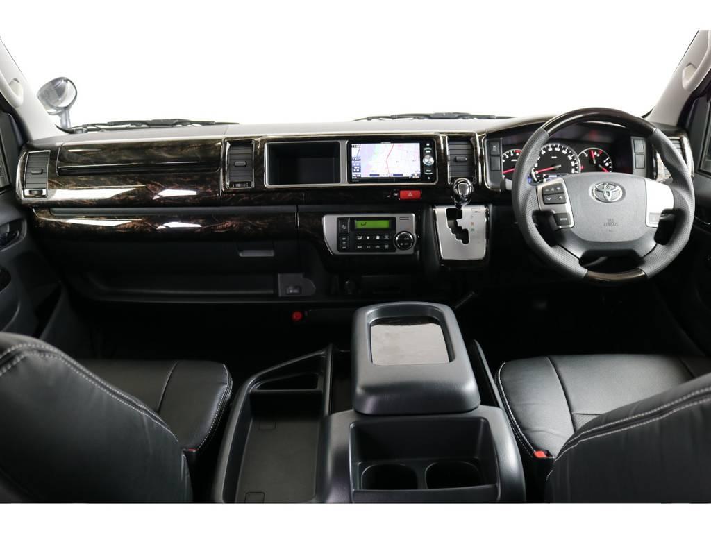 見切りがいいので運転しやすいです。 | トヨタ ハイエース 2.7 GL ロング ミドルルーフ 4WD TSS付 アレンジVer2