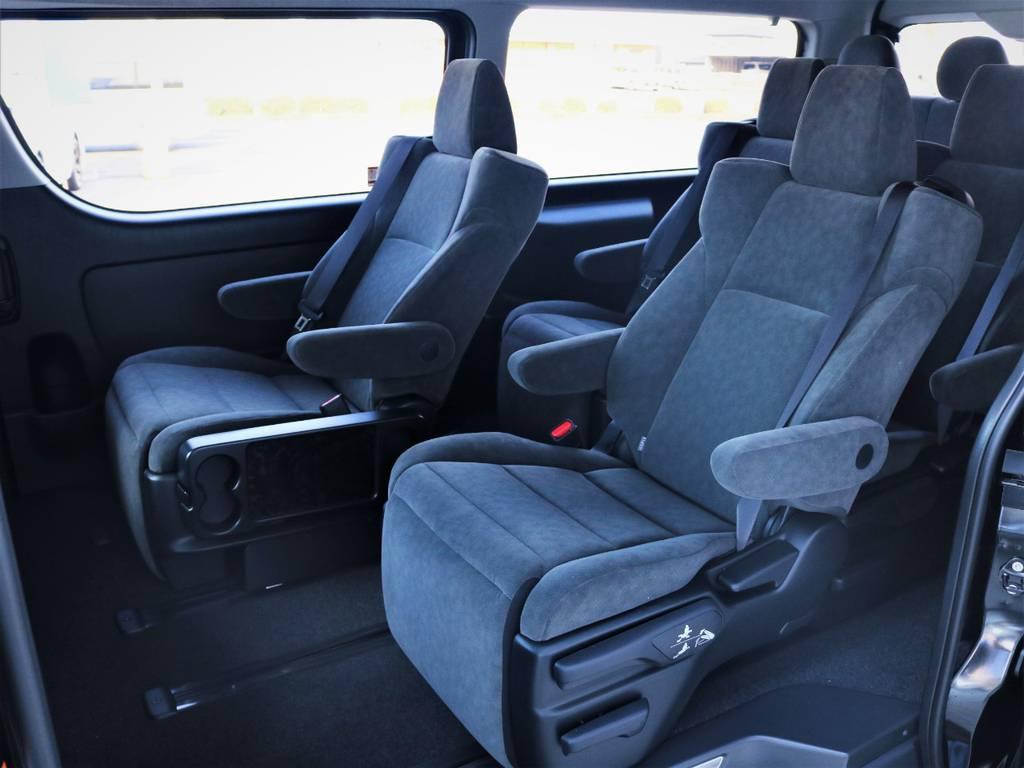 スライドレール付き! | トヨタ ハイエース 2.7 GL ロング ファインテックツアラー キャプテンシート