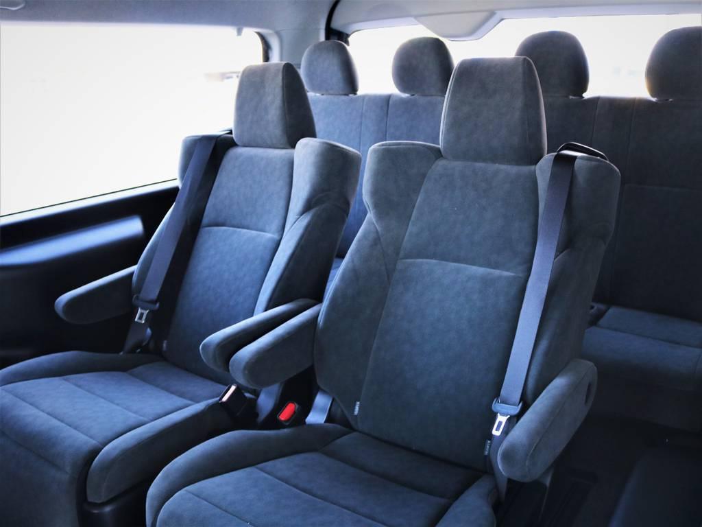 3列目! | トヨタ ハイエース 2.7 GL ロング ファインテックツアラー キャプテンシート