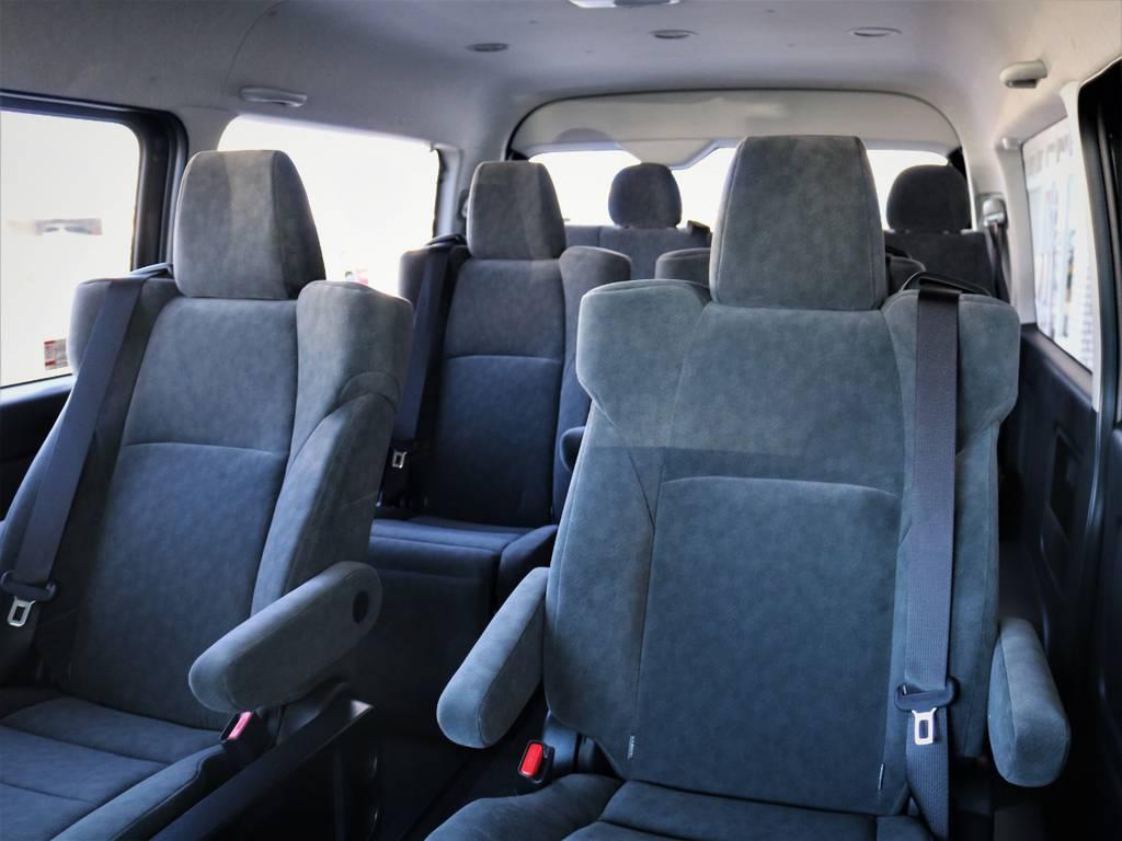 豪華キャプテンシート4脚搭載! | トヨタ ハイエース 2.7 GL ロング ファインテックツアラー キャプテンシート