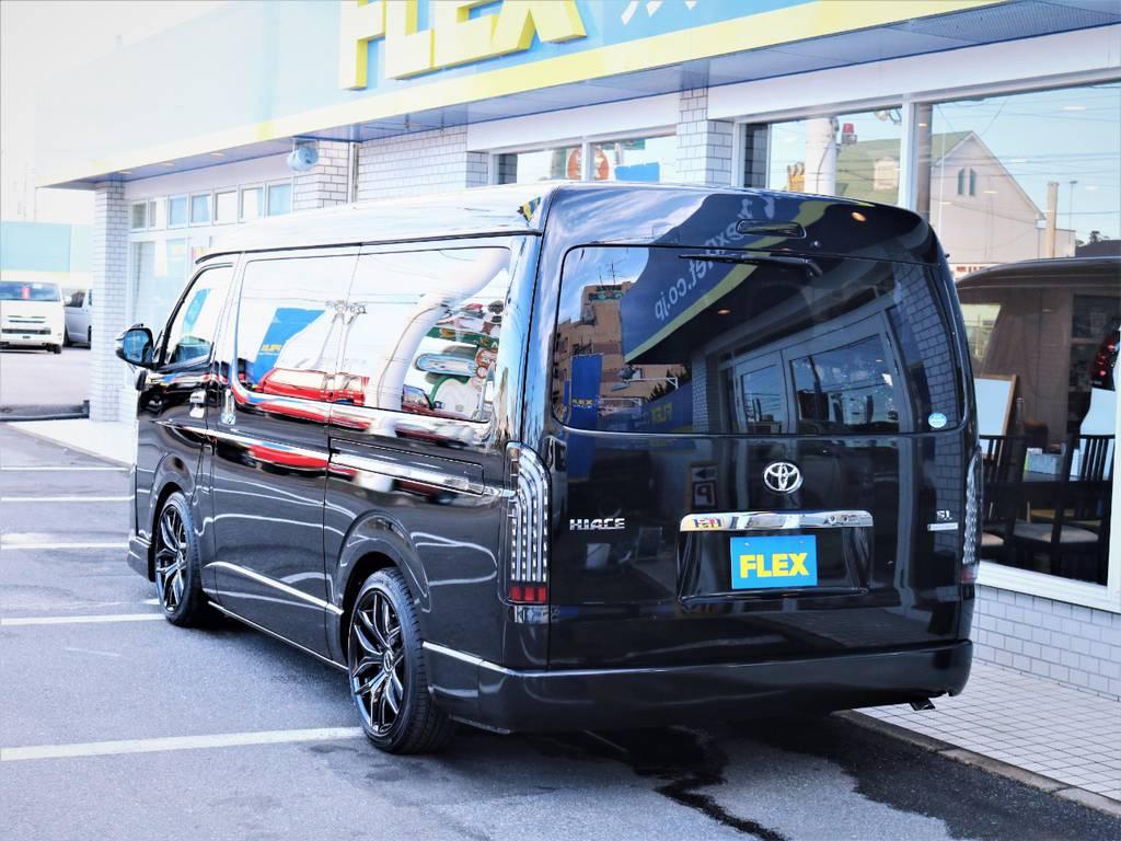 茨城県最大級のハイエース専門店!新車から中古車までラインナップ! | トヨタ ハイエース 2.7 GL ロング ファインテックツアラー キャプテンシート