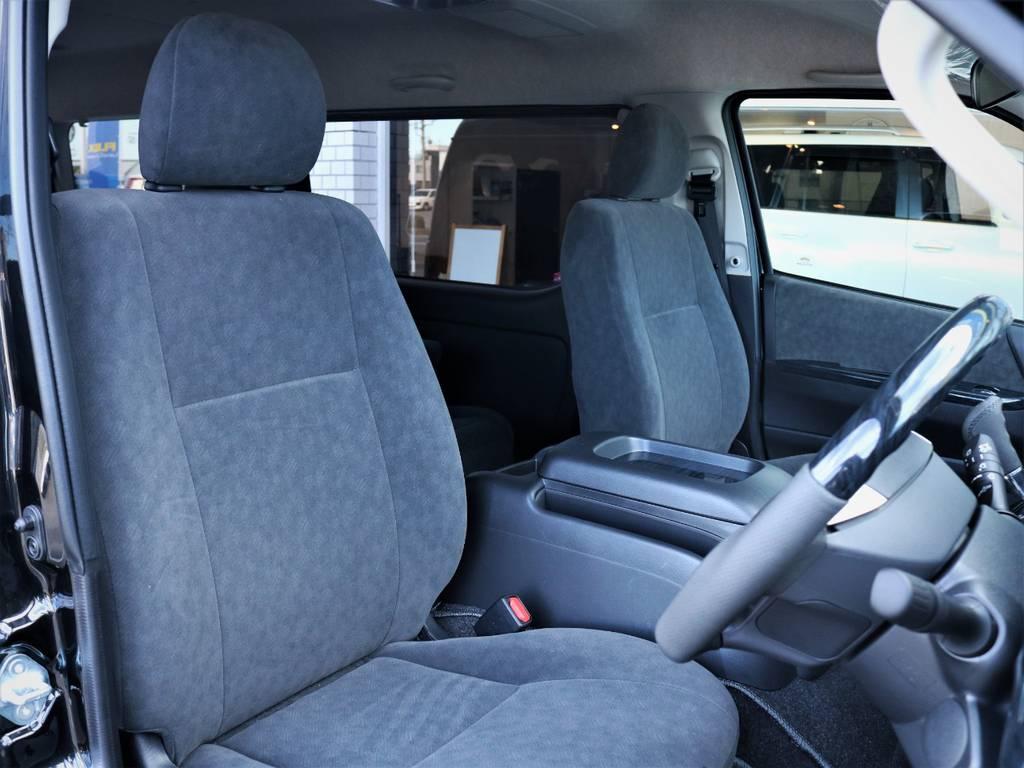 運転席シート! | トヨタ ハイエース 2.7 GL ロング ファインテックツアラー キャプテンシート