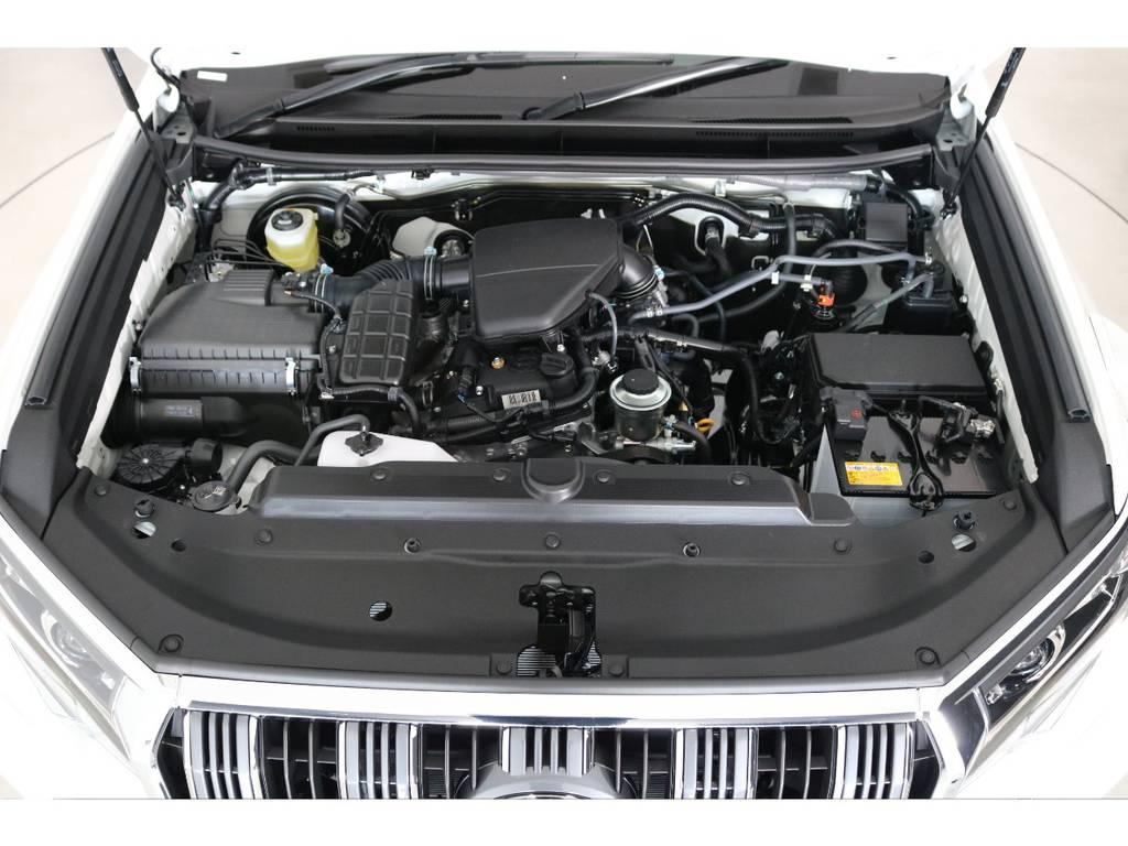 店舗敷地内に工場完備ですので車検から整備までお任せください。 | トヨタ ランドクルーザープラド 2.7 TX 4WD 7人 新車未登録車 20インチAW