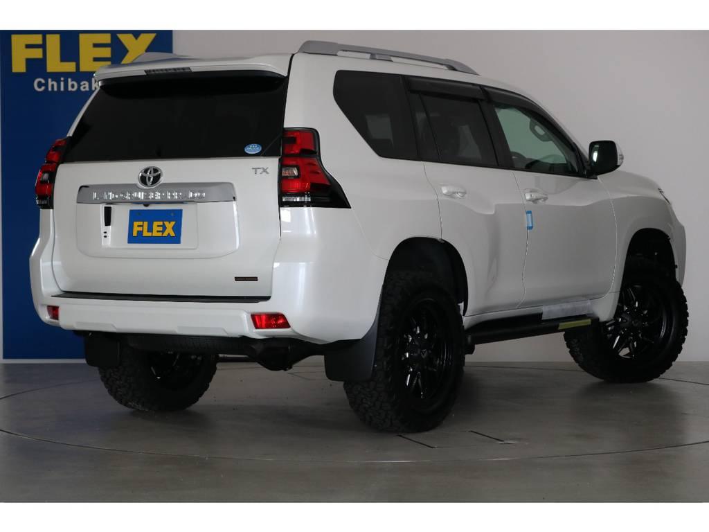 ご不明な点、ご質問等がございましたらお気軽にランクル千葉北店スタッフまでお聞きください。 | トヨタ ランドクルーザープラド 2.7 TX 4WD 7人 新車未登録車 20インチAW