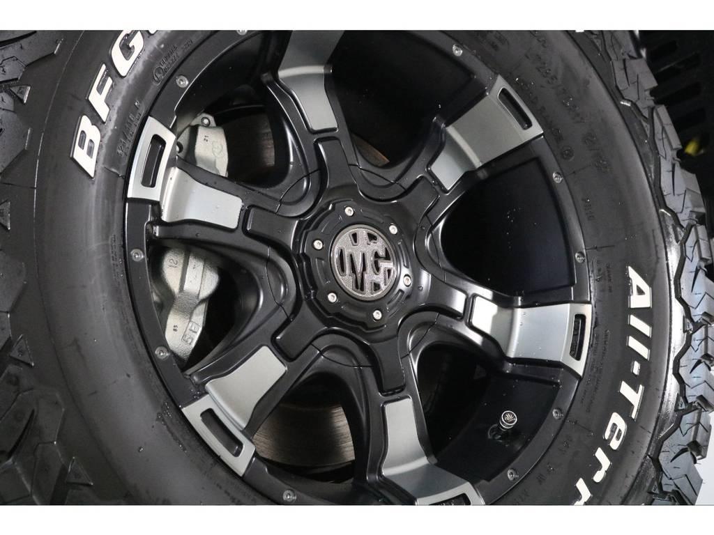 新品XD17インチホイール&新品BFグッドリッチATタイヤを装着致しました!
