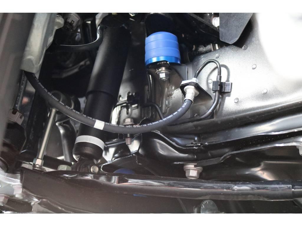 玄武 前後バンプラバー&リバウンドストップ!! | トヨタ ハイエース 2.7 GL ロング ミドルルーフ TSS付 ARRANGE R1
