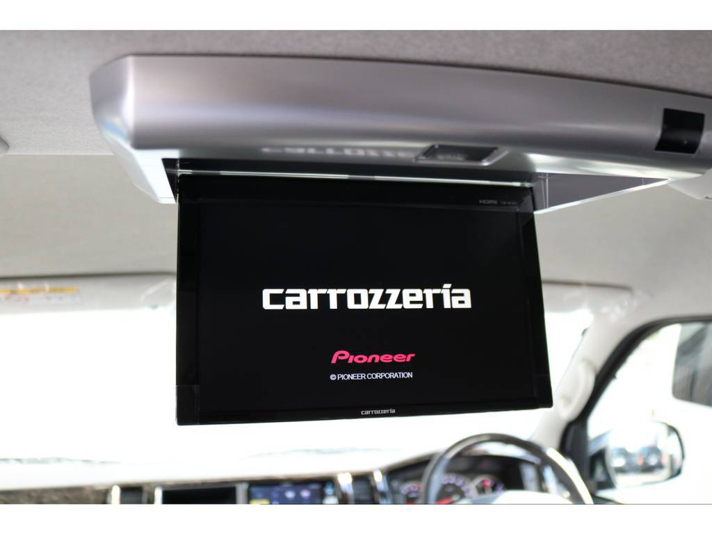 カロッツェリア フリップダウンモニター!! | トヨタ ハイエース 2.7 GL ロング ミドルルーフ TSS付 ARRANGE R1