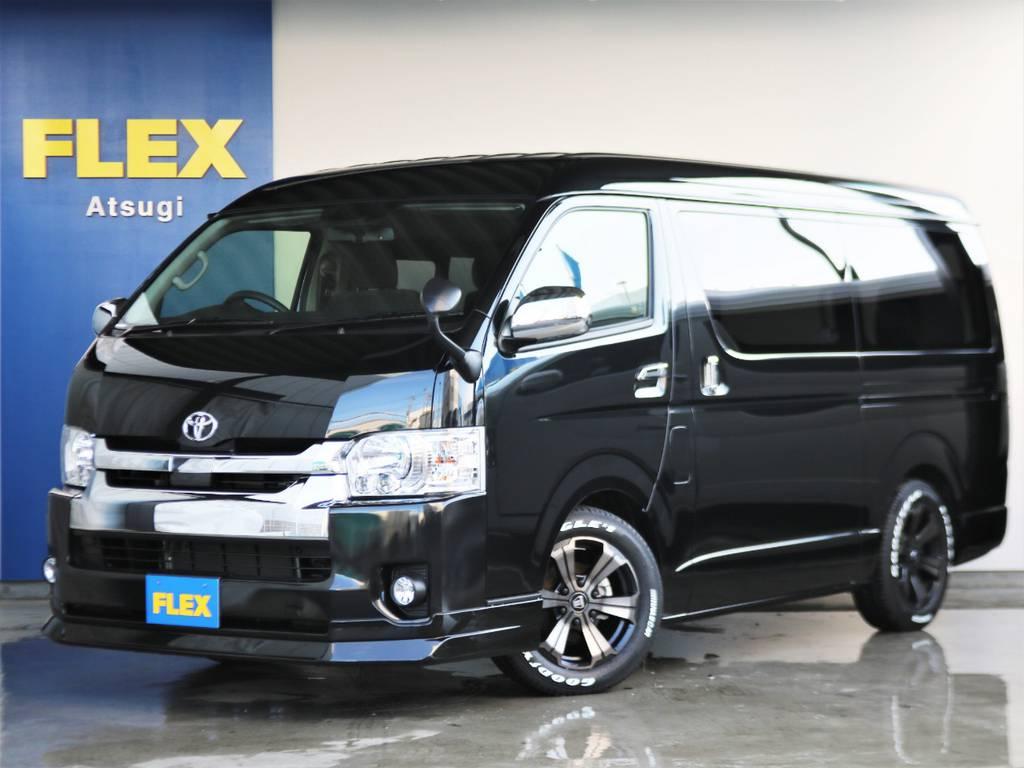 ハイエースワゴンGL ガソリン2WD フレックスオリジナル内装架装 アレンジR1 | トヨタ ハイエース 2.7 GL ロング ミドルルーフ TSS付 ARRANGE R1