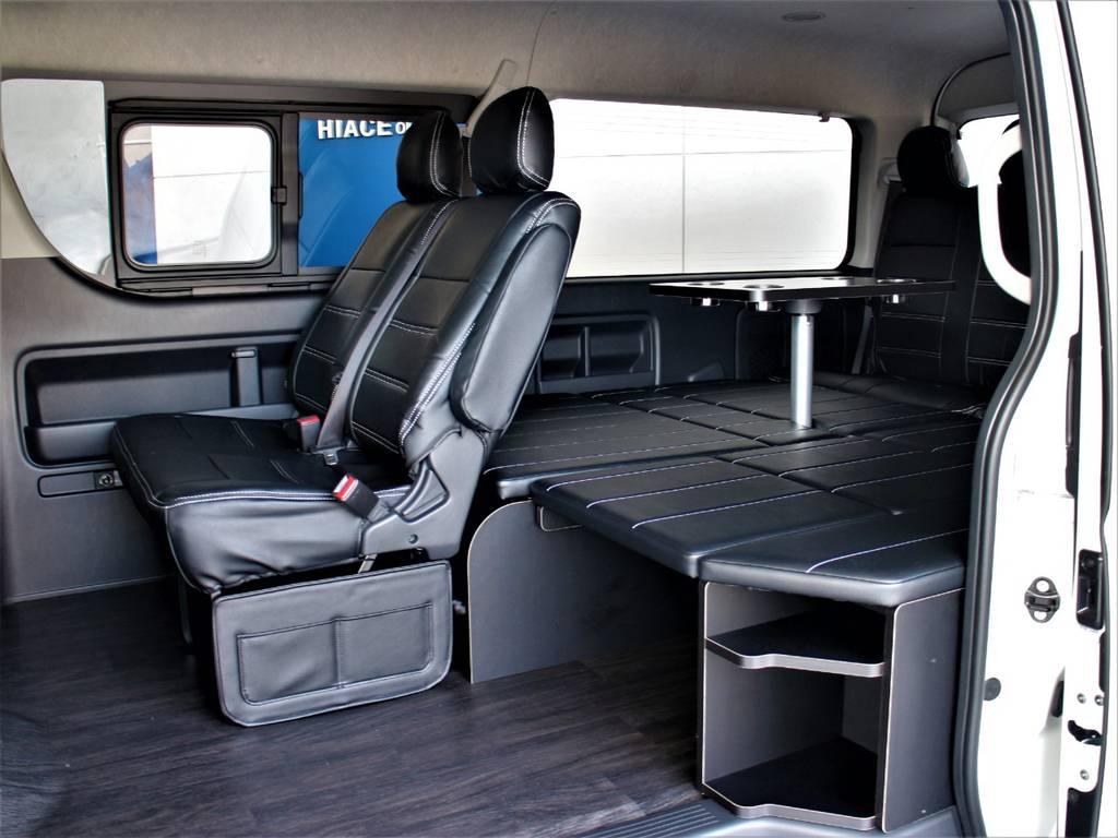 FLEXオリジナルアレンジR1内装架装!   トヨタ ハイエース 2.7 GL ロング ミドルルーフ 4WD