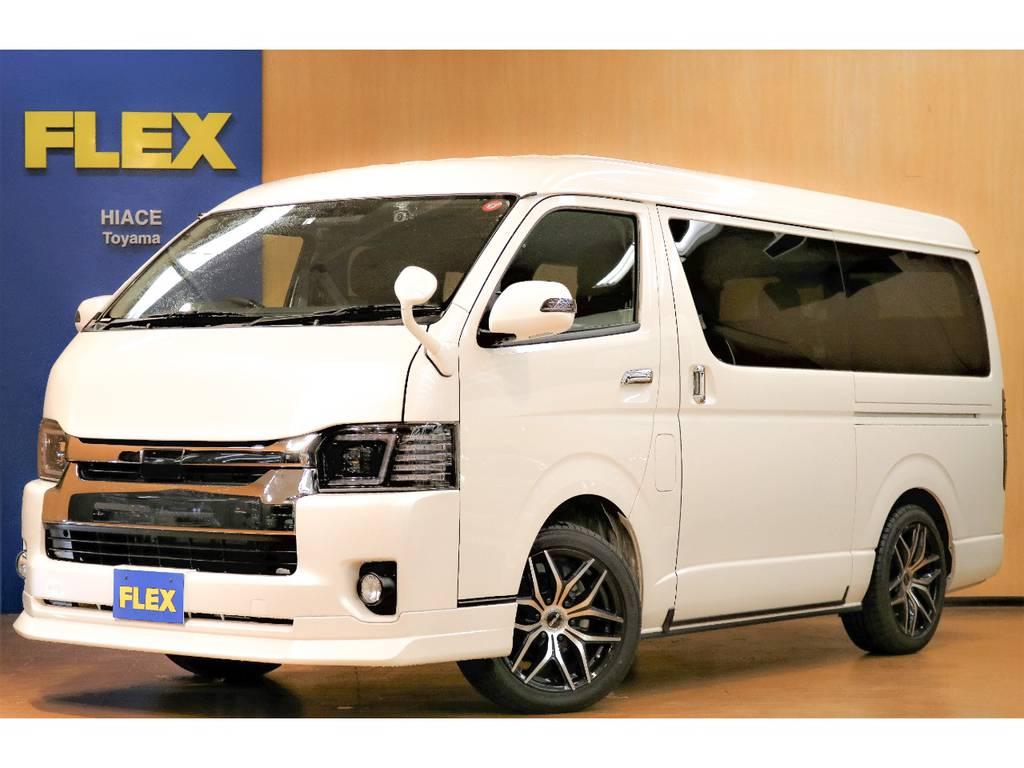 【試乗車特別販売スタート!!】人気のハイエースワゴンGL4WD フレックスオリジナル内装架装R1の試乗車を販売開始♪