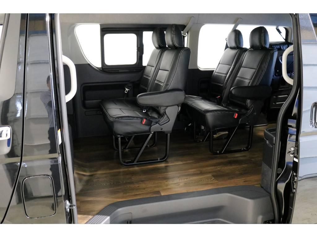 3ナンバー10人乗りシート! | トヨタ ハイエース 2.7 GL ロング ミドルルーフ 4WD TSS付ナビパッケージ