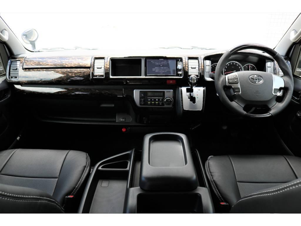 ゆとりある座席です!!   トヨタ ハイエース 2.7 GL ロング ミドルルーフ TSS付 アレンジVer1
