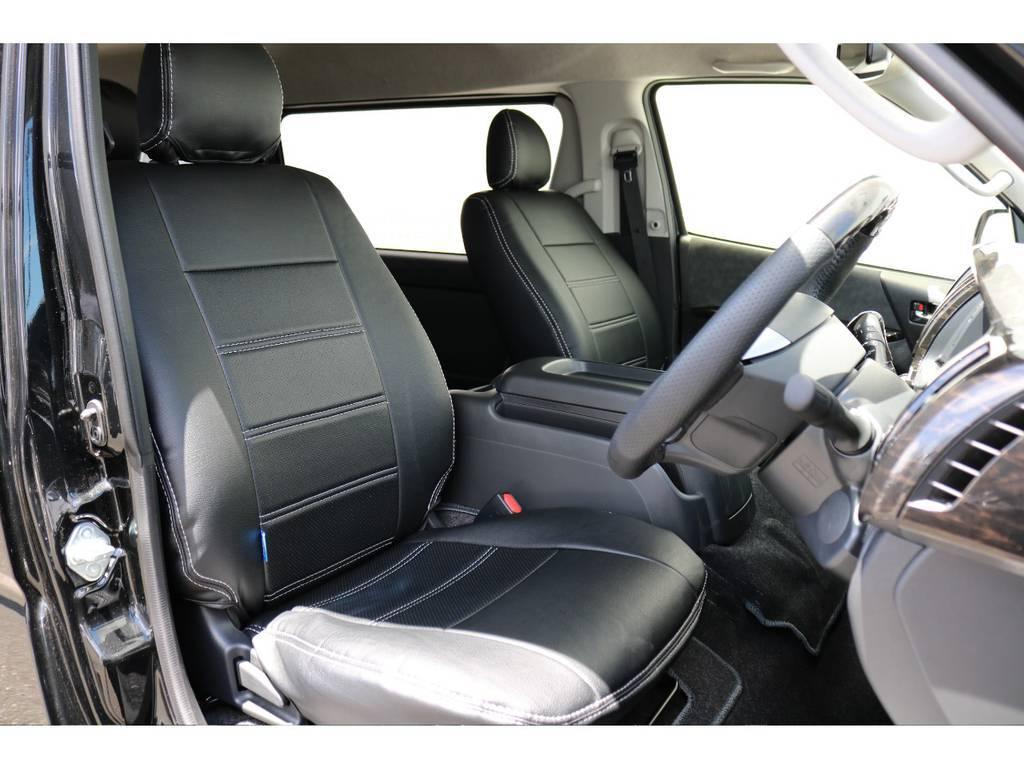 車高が高いので運転しやすいです!!   トヨタ ハイエース 2.7 GL ロング ミドルルーフ TSS付 アレンジVer1