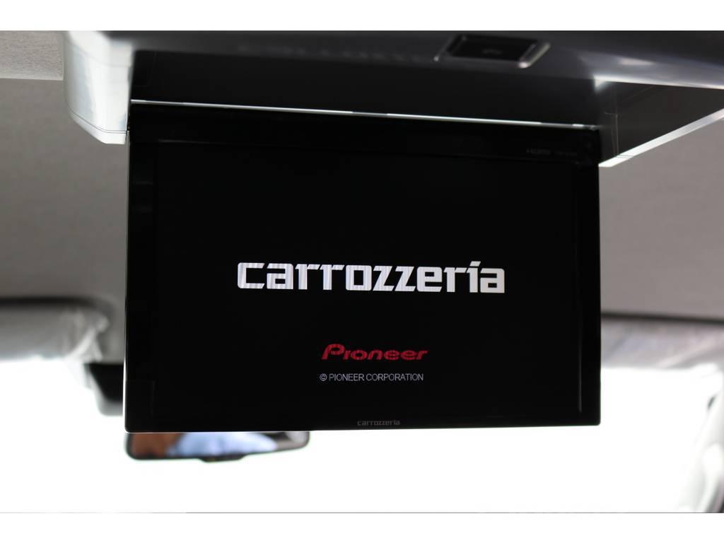 カロッツェリアフリップダウンモニター付き!!   トヨタ ハイエース 2.7 GL ロング ミドルルーフ TSS付 アレンジVer1