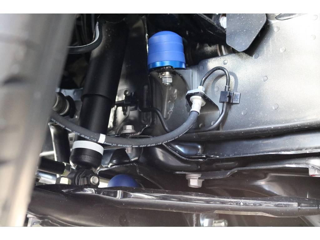 2インチローダウンしてます!!   トヨタ ハイエース 2.7 GL ロング ミドルルーフ TSS付 アレンジVer1