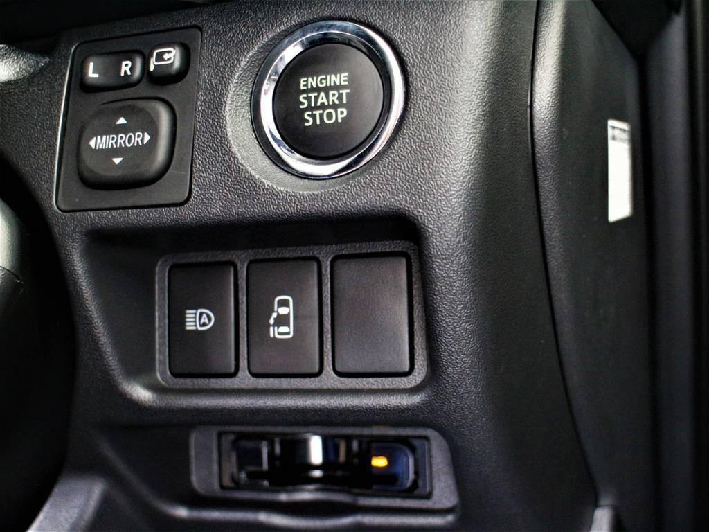 パワースライドドア付き!プッシュスタート&スマートキー!ETC! | トヨタ ハイエース 2.7 GL ロング ミドルルーフ TSS付シートアレンジVer1
