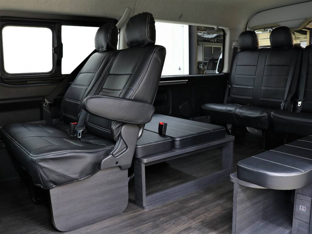 Ver1シートアレンジ車! | トヨタ ハイエース 2.7 GL ロング ミドルルーフ TSS付シートアレンジVer1