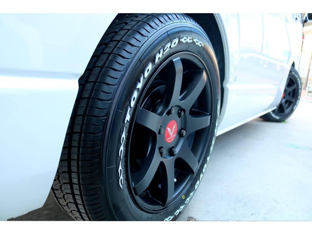 迫力あるサイドライン!!   トヨタ ハイエース 2.7 GL ロング ミドルルーフ TSS付アレンジA