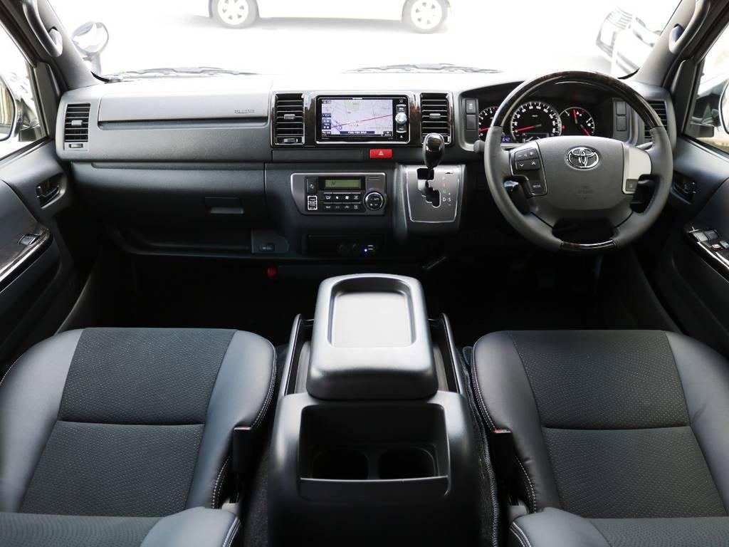特別仕様車【ダークプライムⅡ】をベースに、内外装を仕上げたお車です♪ | トヨタ ハイエースバン 2.0 スーパーGL ダークプライムⅡ ロングボディ 内装Ver4D/P