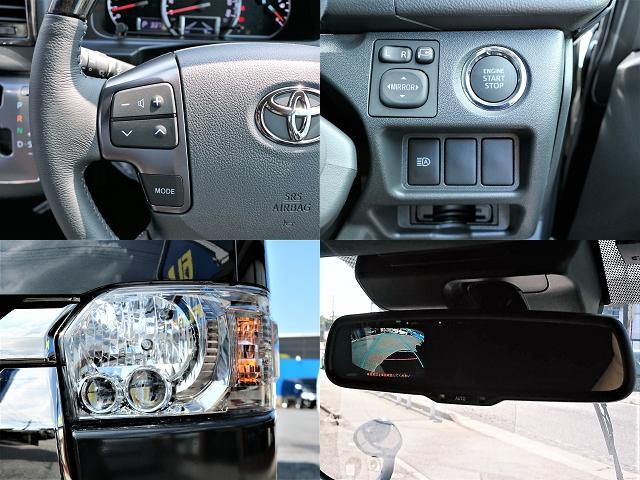 スマートキーなどハイエースをより便利に使える純正メーカーオプションが多数装着済みです!   トヨタ ハイエースバン 2.0 スーパーGL ダークプライムⅡ ロングボディ D/PⅡ小窓付き