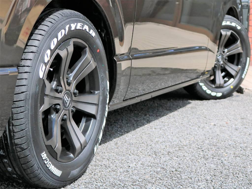 2インチローダウン済み!安心の構造変更後のお渡しとなります! | トヨタ ハイエースバン 2.0 スーパーGL 50TH アニバーサリー リミテッド ロングボディ