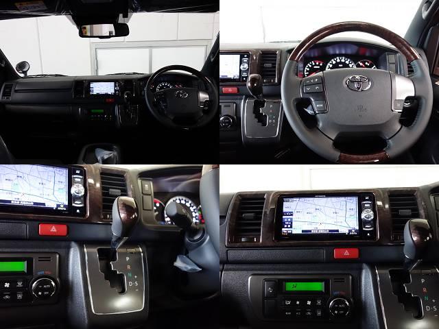 専用のコンビハンドル、ノブ、インテリアパネル装備!! | トヨタ ハイエースバン 2.8 スーパーGL 50TH アニバーサリー リミテッド ロングボディ ディーゼルターボ 50TH