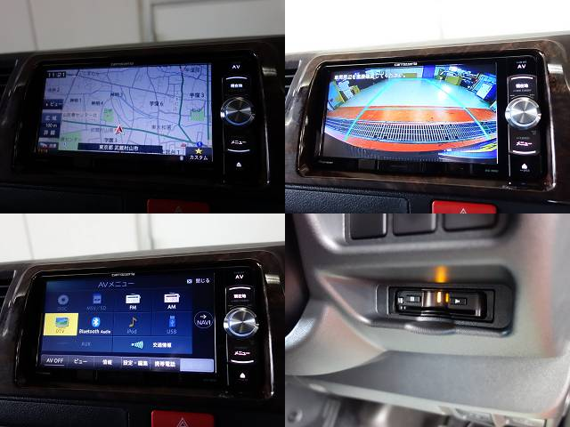 パイオニア製SDナビフルセグ対応、バックカメラナビ連動、ETC分離型装備!! | トヨタ ハイエースバン 2.8 スーパーGL 50TH アニバーサリー リミテッド ロングボディ ディーゼルターボ 50TH