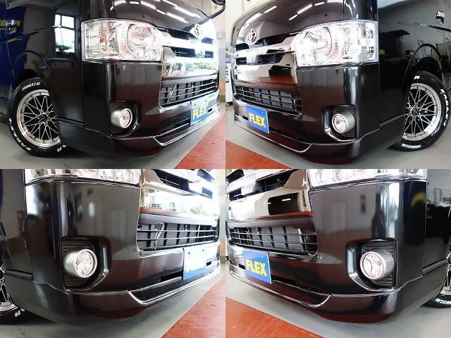 ESSEX製フロントスポイラー装着済み!! | トヨタ ハイエースバン 2.8 スーパーGL 50TH アニバーサリー リミテッド ロングボディ ディーゼルターボ 50TH