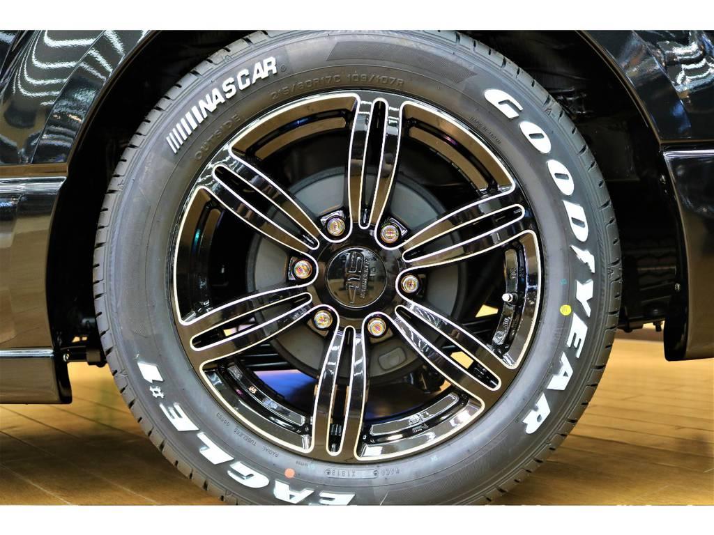 ホイールナットも415コブラですよ♪ | トヨタ ハイエースバン 2.8 スーパーGL ダークプライムⅡ ロングボディ ディーゼルターボ 4WD D/PⅡ415コブラコンプリート
