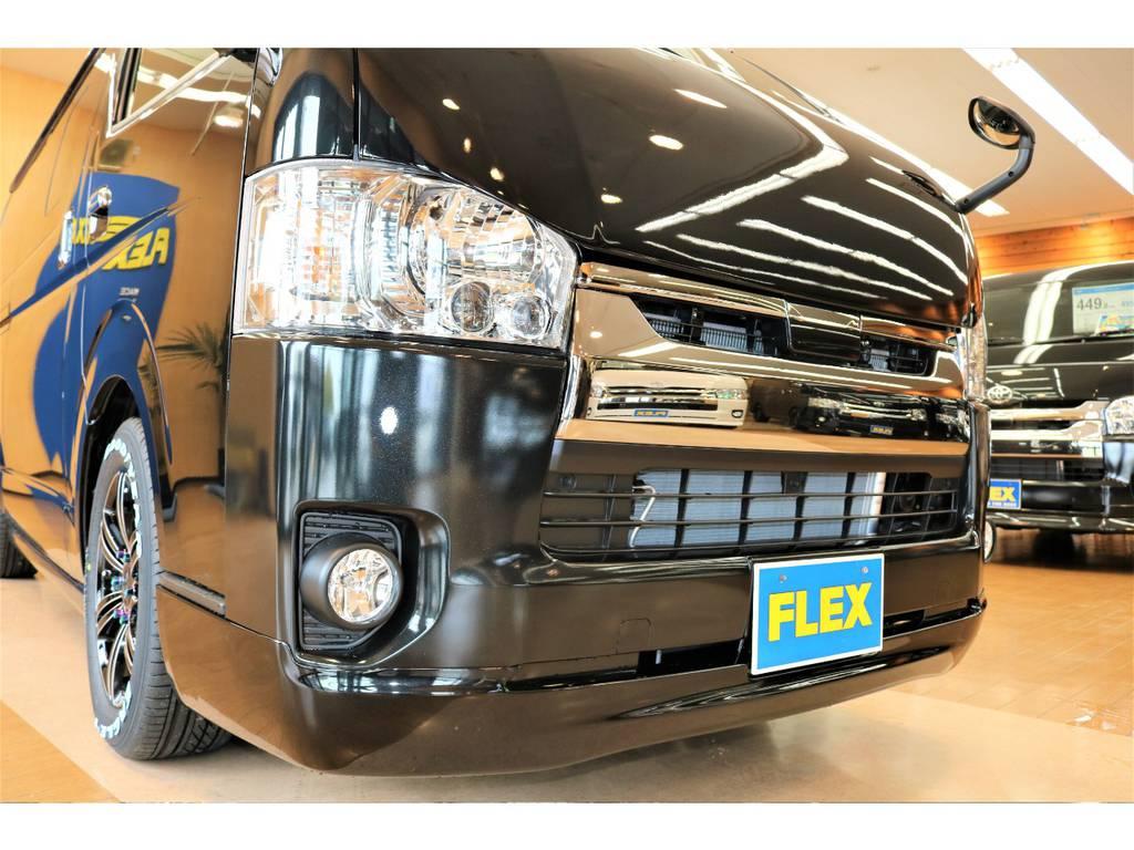 是非一度ご覧ください! | トヨタ ハイエースバン 2.8 スーパーGL ダークプライムⅡ ロングボディ ディーゼルターボ 4WD D/PⅡ415コブラコンプリート