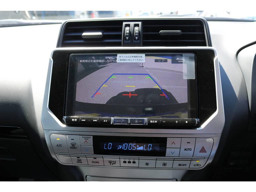 アルパイン製9インチBIGXも新品装着!バックカメラも大画面で安全視界! | トヨタ ランドクルーザープラド 2.7 TX 4WD 7人 新車未登録車 9インチナビ
