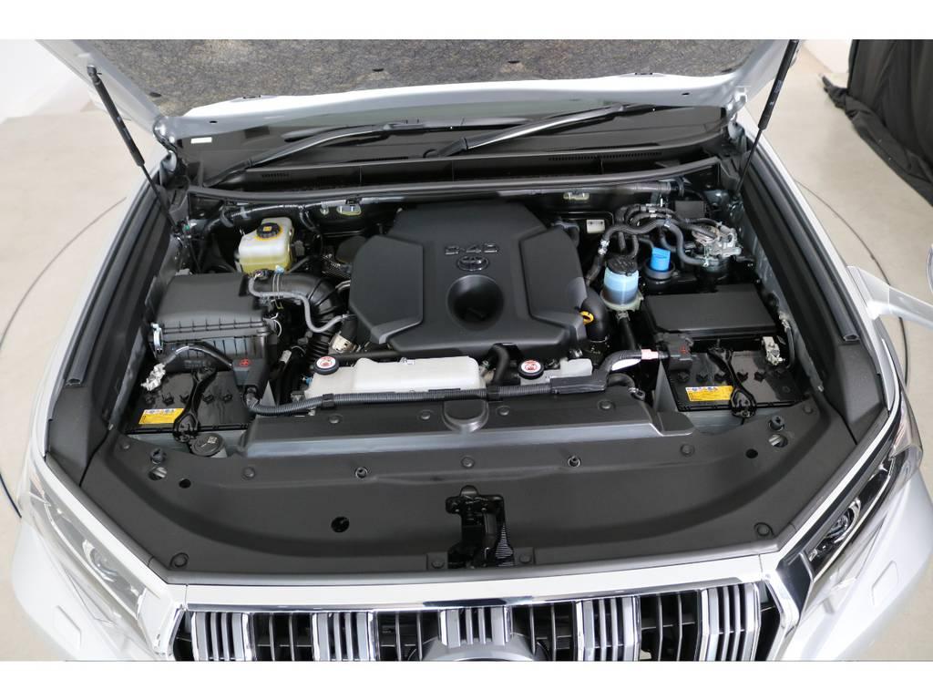 店舗敷地内に工場完備ですので車検から整備までお任せください。 | トヨタ ランドクルーザープラド 2.8 TX ディーゼルターボ 4WD 7人 新車未登録車 ディーゼル