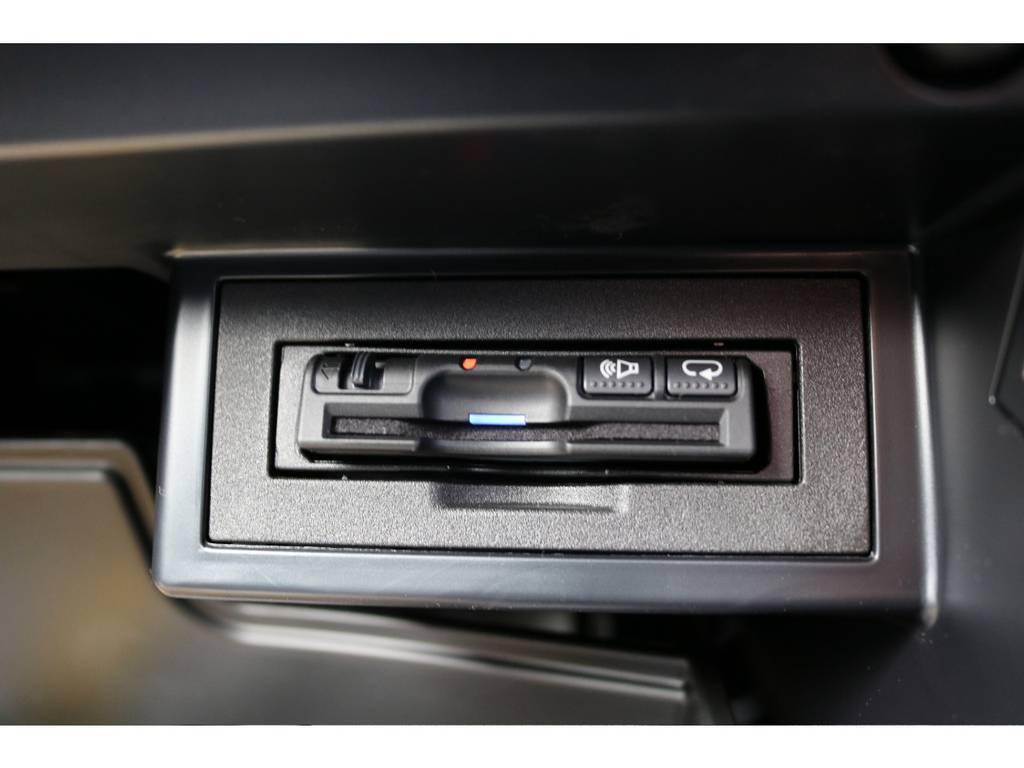 必需品のETCも新品装着! | トヨタ ランドクルーザープラド 2.8 TX ディーゼルターボ 4WD 7人 新車未登録車 ディーゼル