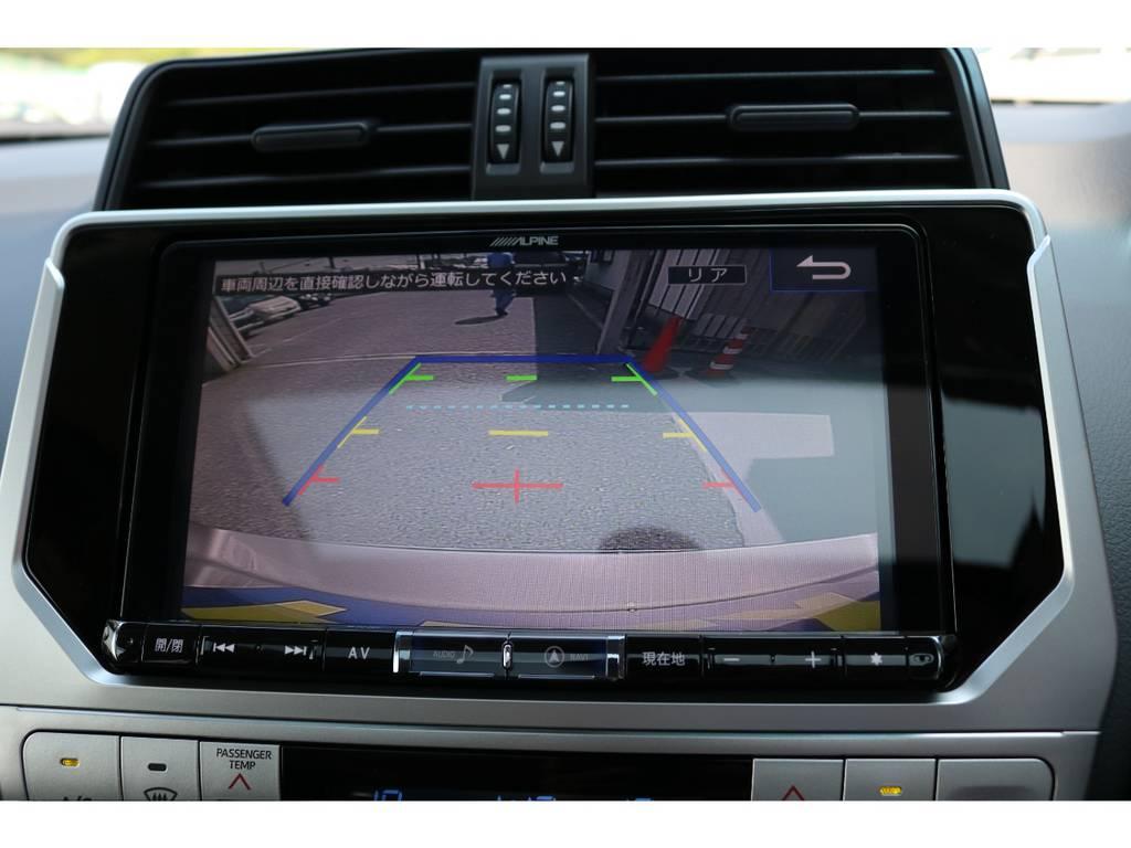 アルパイン製9インチBIGXも新品装着!バックカメラも大画面で安全視界!   トヨタ ランドクルーザープラド 2.7 TX 4WD 5人 新車未登録車 9インチナビ