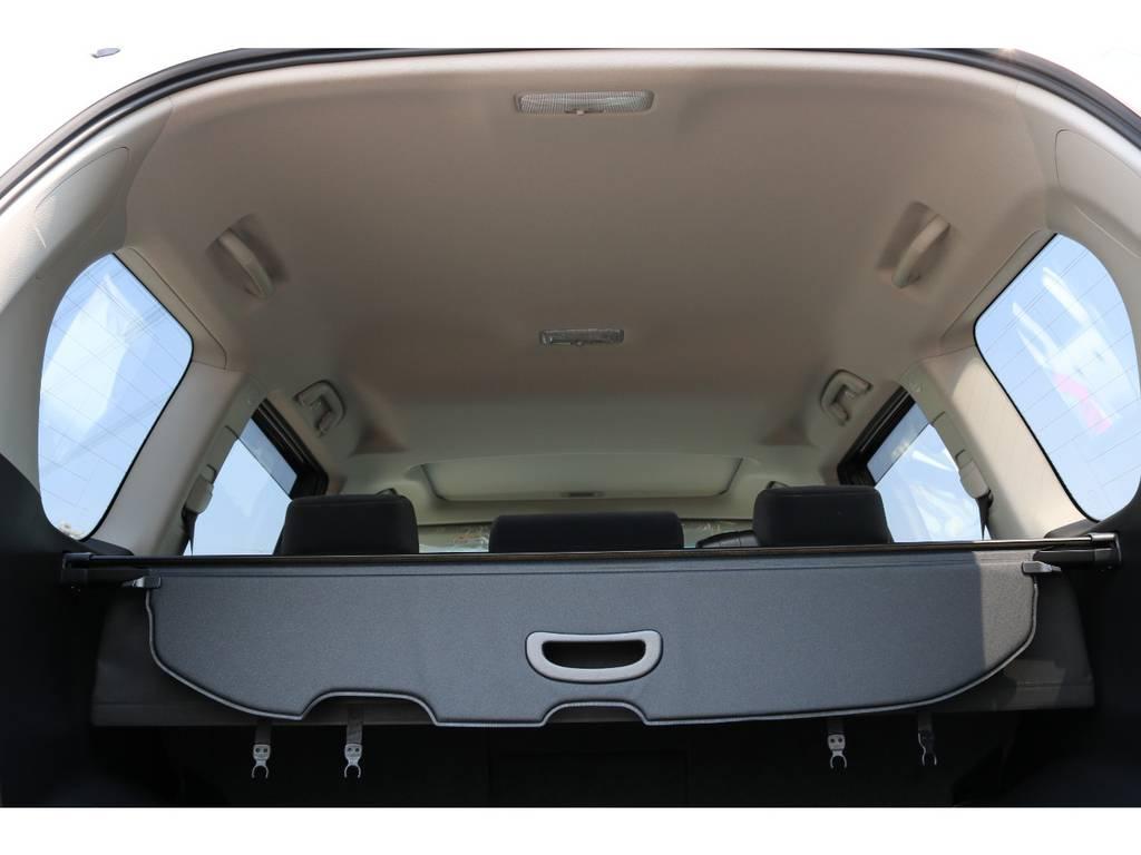 広々した天井!フリップダウンモニターの取り付け事例もございます。   トヨタ ランドクルーザープラド 2.7 TX 4WD 5人 新車未登録車 9インチナビ