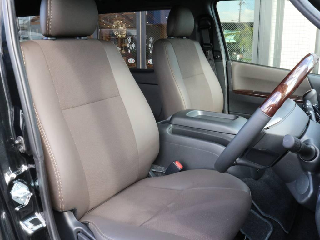 車高が高いので運転しやすいですよ!! | トヨタ ハイエースバン 2.0 スーパーGL 50TH アニバーサリー リミテッド ロングボディ オリジナル内装Ver4