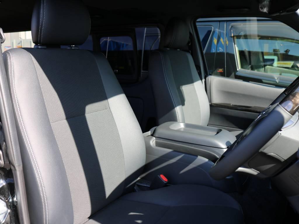 運転しやすいですよ!! | トヨタ ハイエースバン 2.8 スーパーGL ダークプライムⅡ ロングボディ ディーゼルターボ 床張りナビパッケージ