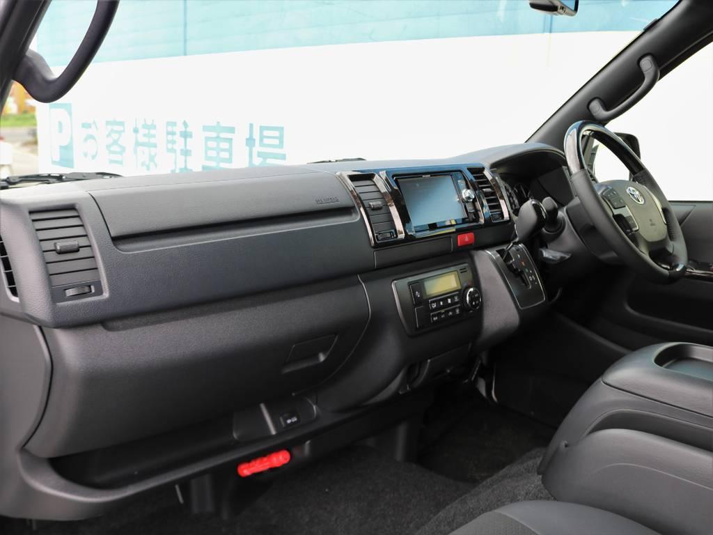 トヨタ正規保証付帯!5年または10万キロいずれか早い方迄となります! | トヨタ ハイエースバン 2.8 スーパーGL ダークプライムⅡ ロングボディ ディーゼルターボ 4WD 床張りライトカスタムパッケージ